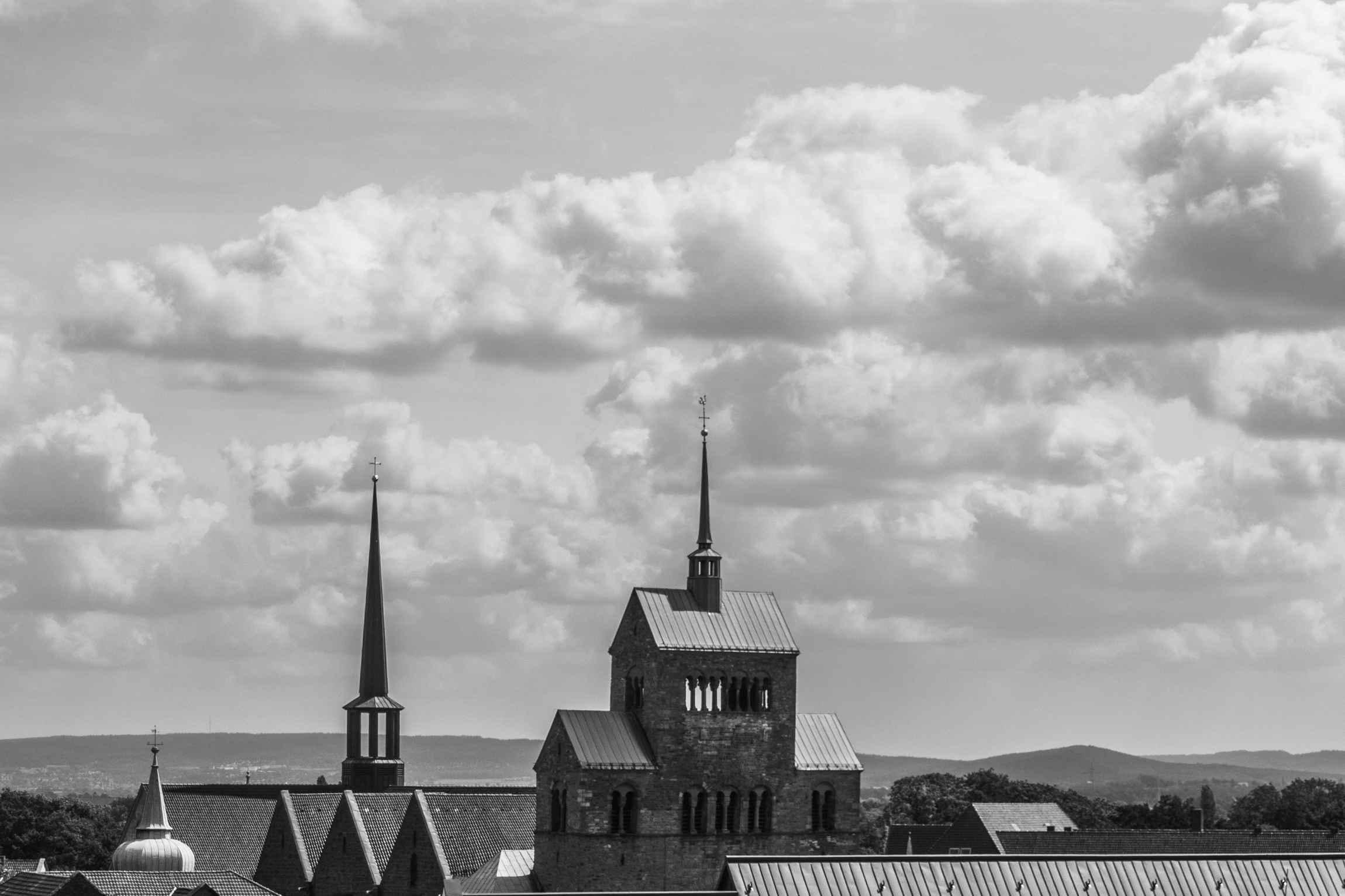 Über den Dächern von Minden
